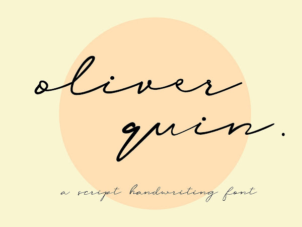 Oliver Quin Script Font Free Download