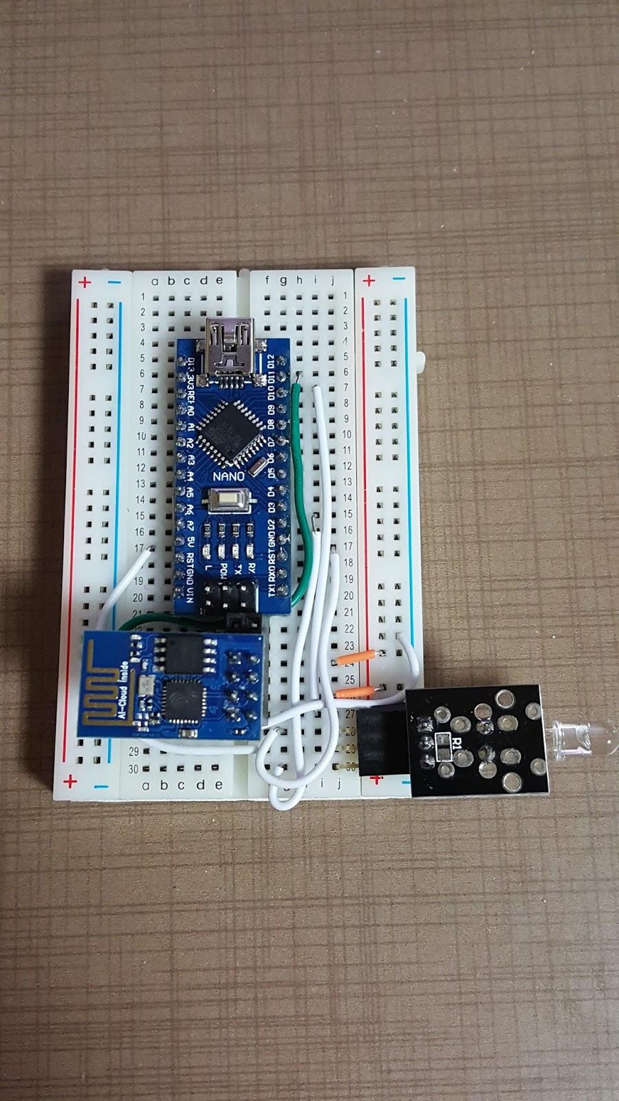 Arduino nano 그리고 무선랜 esp 취미로 하는 개발