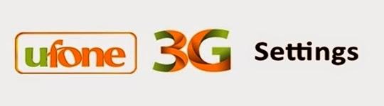 Paktron - Pakistani Technical Blog: Ufone 3G Setings