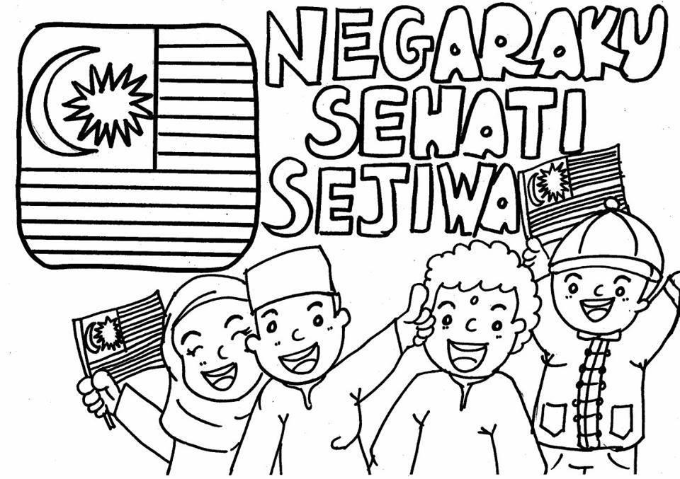 169 best Mewarnai Gambar images on Pinterest | Hari kemerdekaan ...