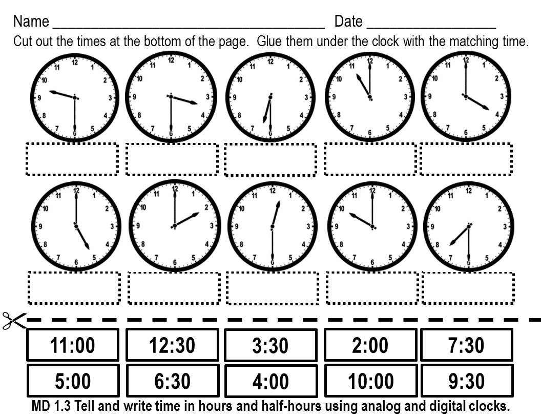 Time Worksheet New 547 Time Worksheets Cut And Stick