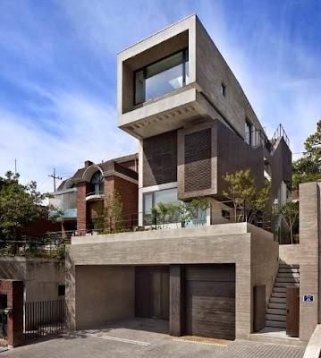 Desain Rumah Minimalis ala Korea terbaru 2016
