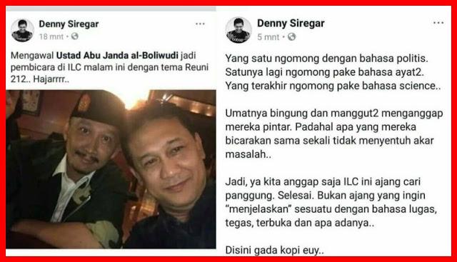 """Surat Buat Denny Siregar"" Oleh: S Stanley Sumampouw"