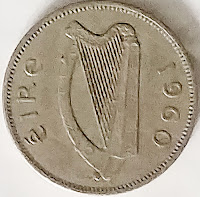 Irish Sixpence for Her Shoe - Wedding Tradition