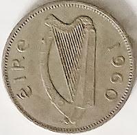 Irish Sixpence for Her Shoe - Wedding Tradition