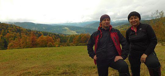 Na polanie nad Wierchomlą.