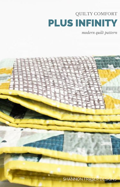 Plus Infinity Quilt | Art Gallery Fabrics | Q1 2018 Finish-A-Long Quilt Projects | Shannon Fraser Designs | Modern Quilting | WIP | Quilt Patterns