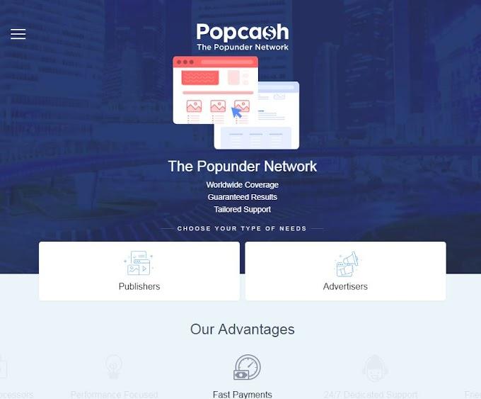 MMO - Cùng kiếm tiền với mạng quảng cáo popcash