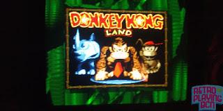 pantalla de titulo super gameboy donkey kong land