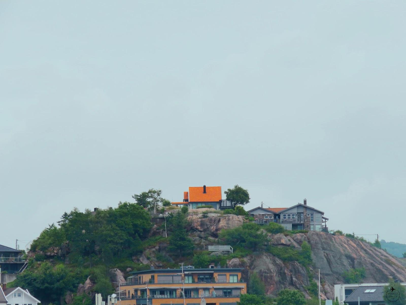 wzgórza w Kristiansand