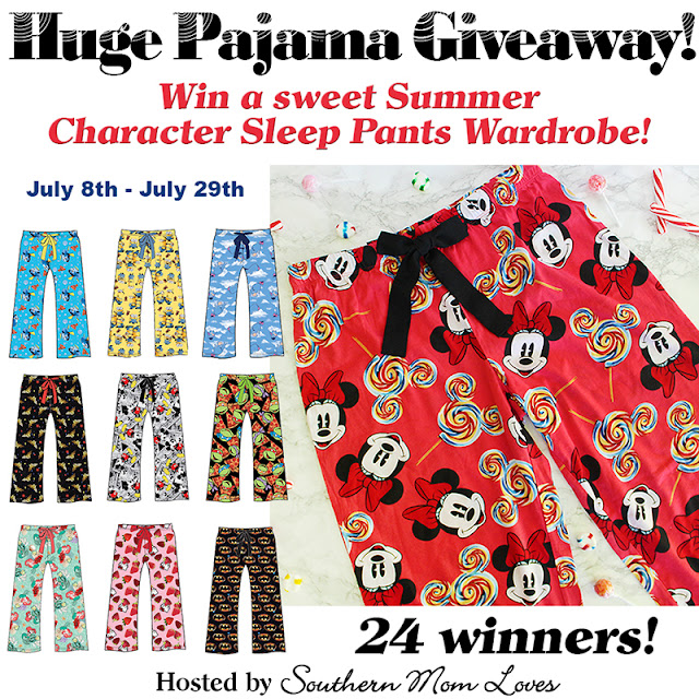 Ladies Cartoon Character Sleep Pant Giveaway (ends 7/29)
