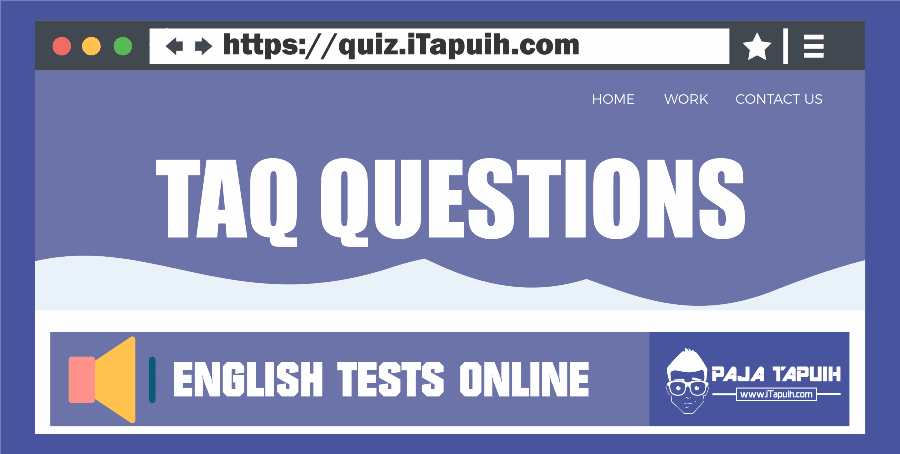 Quiz: Tag Questions