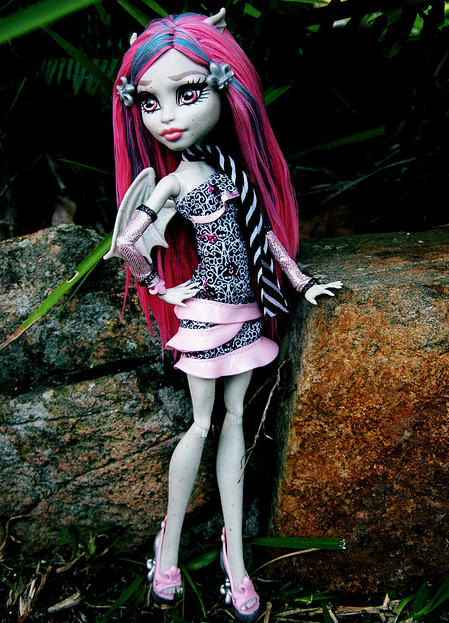 Monster High plantivora: ROCHELLE GHOULS NIGHT OUT NUEVA ...