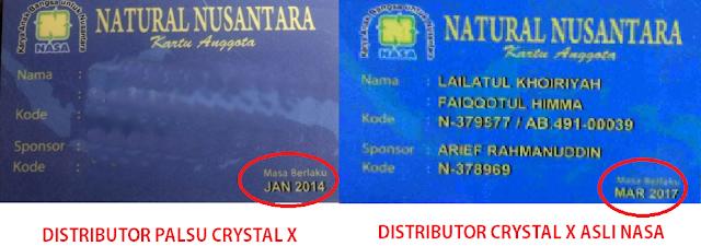 ID Card PT. Natural Nusantara Crystal X