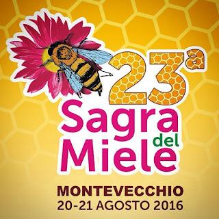 Immagine della locandina sulla 23° Sagra del Miele di Montevecchio