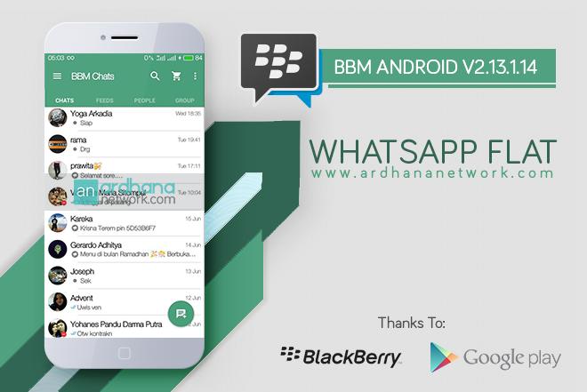 BBM Whatsapp Flat V2.13.1.14