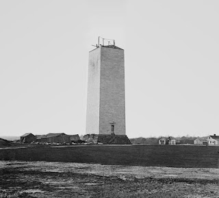 Washington Monument circa 1860 by Mathew Brady