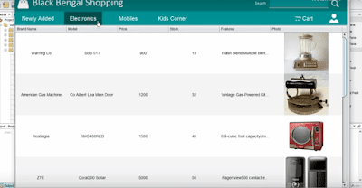 Online Shopping Cart Project in Java With Source Code