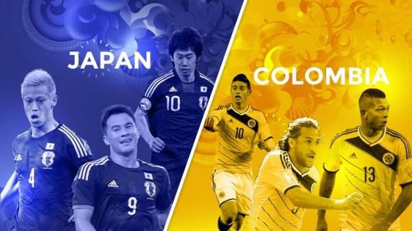 بث مباشر مباراة كولومبيا واليابان