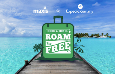 Free 1-day Maxis Data Roaming Pass Expedia Malaysia Booking