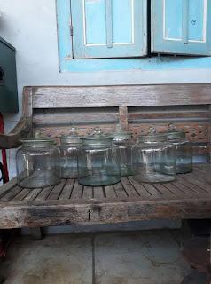 Dijual Toples Kaca Antik Buat Rengginang