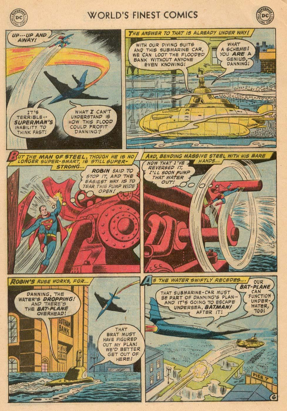 Read online World's Finest Comics comic -  Issue #93 - 8