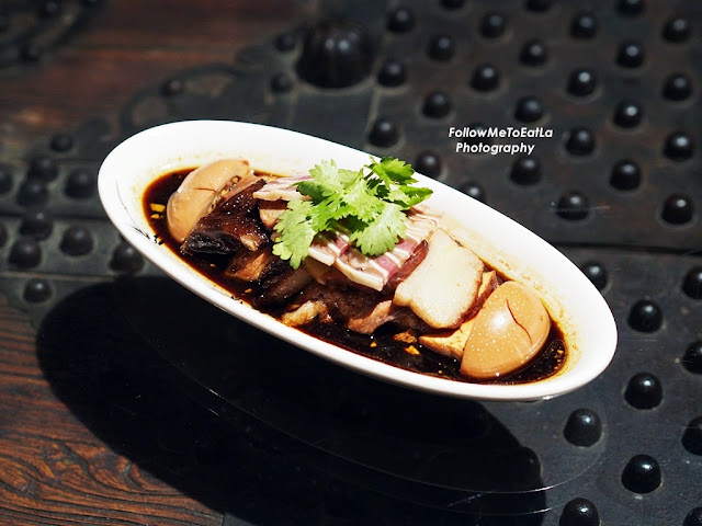 Slow-Braised Goose With Pork Fillet, Pork Intestine, Pig's Ear, Egg & Beancurd