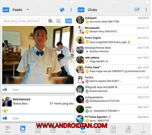 Free Download BBM Mod Apk Apple Iphone v3.3.2.32 Full Terbaru 2017 Gratis