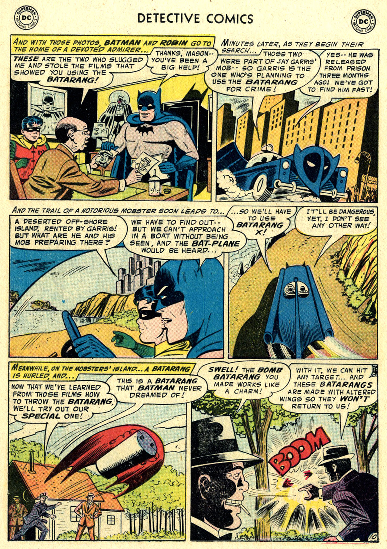 Read online Detective Comics (1937) comic -  Issue #244 - 12