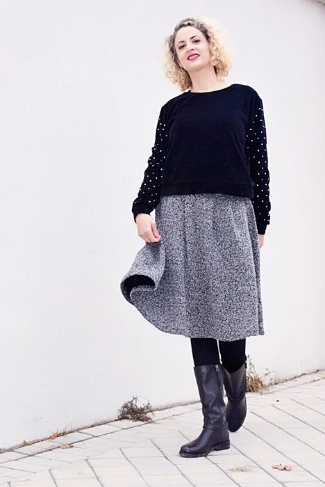 Outfit-falda-punto-gris-6