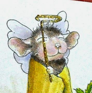 Close up of House-Mouse Angel one