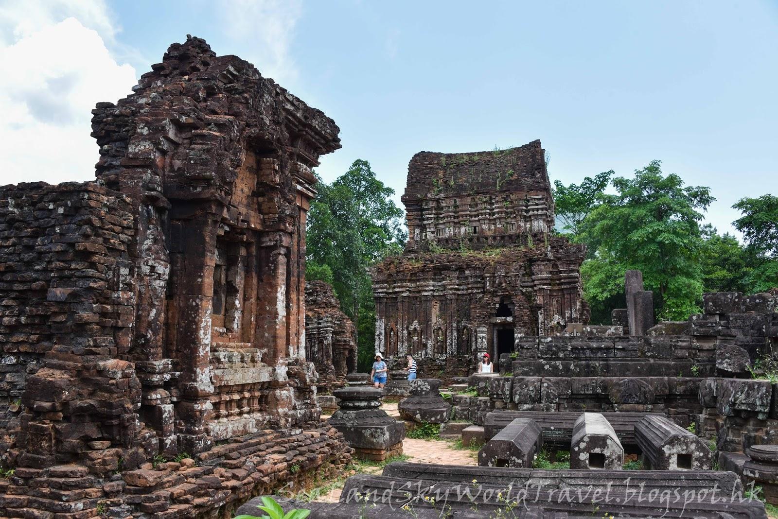 海陸空遊世界: 越南中部迷你吳哥窟: 美山聖地