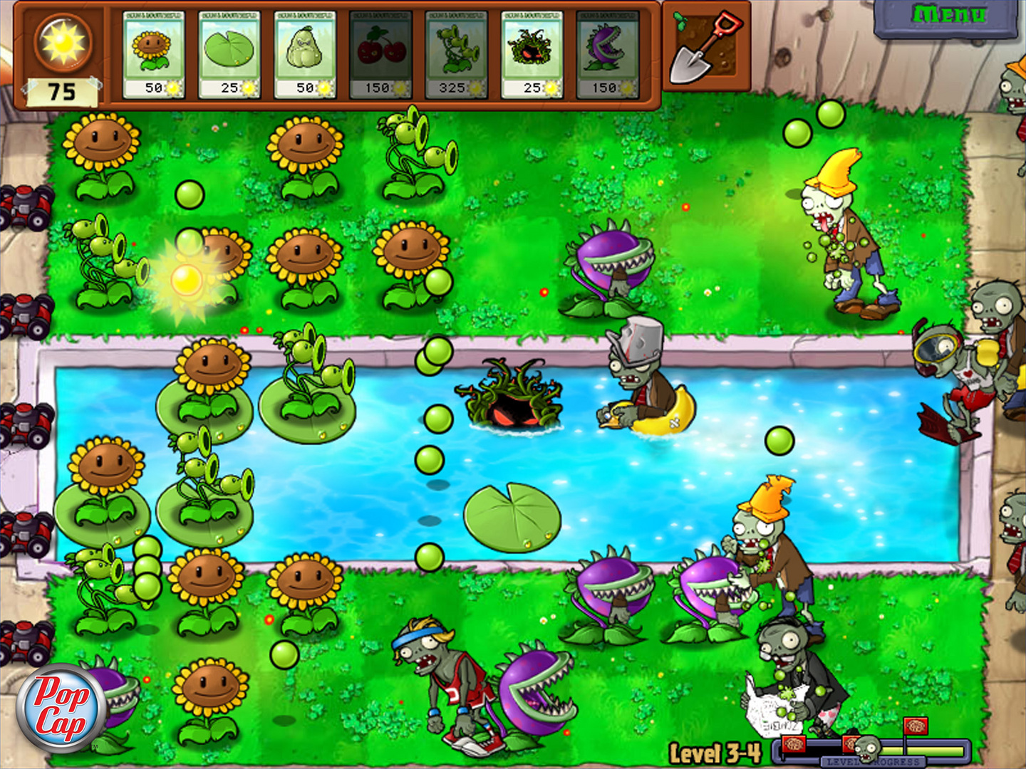 Plants vs. Zombies. Dig into the fun-dead action hit that's won over 30 Game of  the Year awards and counting! It started as a PC/Mac game, and quickly became  ...