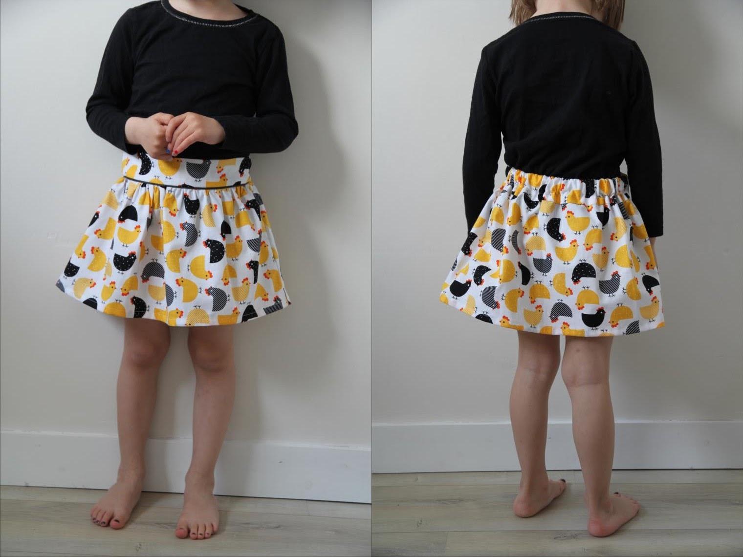Laisse luciefer les petits secrets couture crash test jupe poulette - Patron jupe elastique fille ...