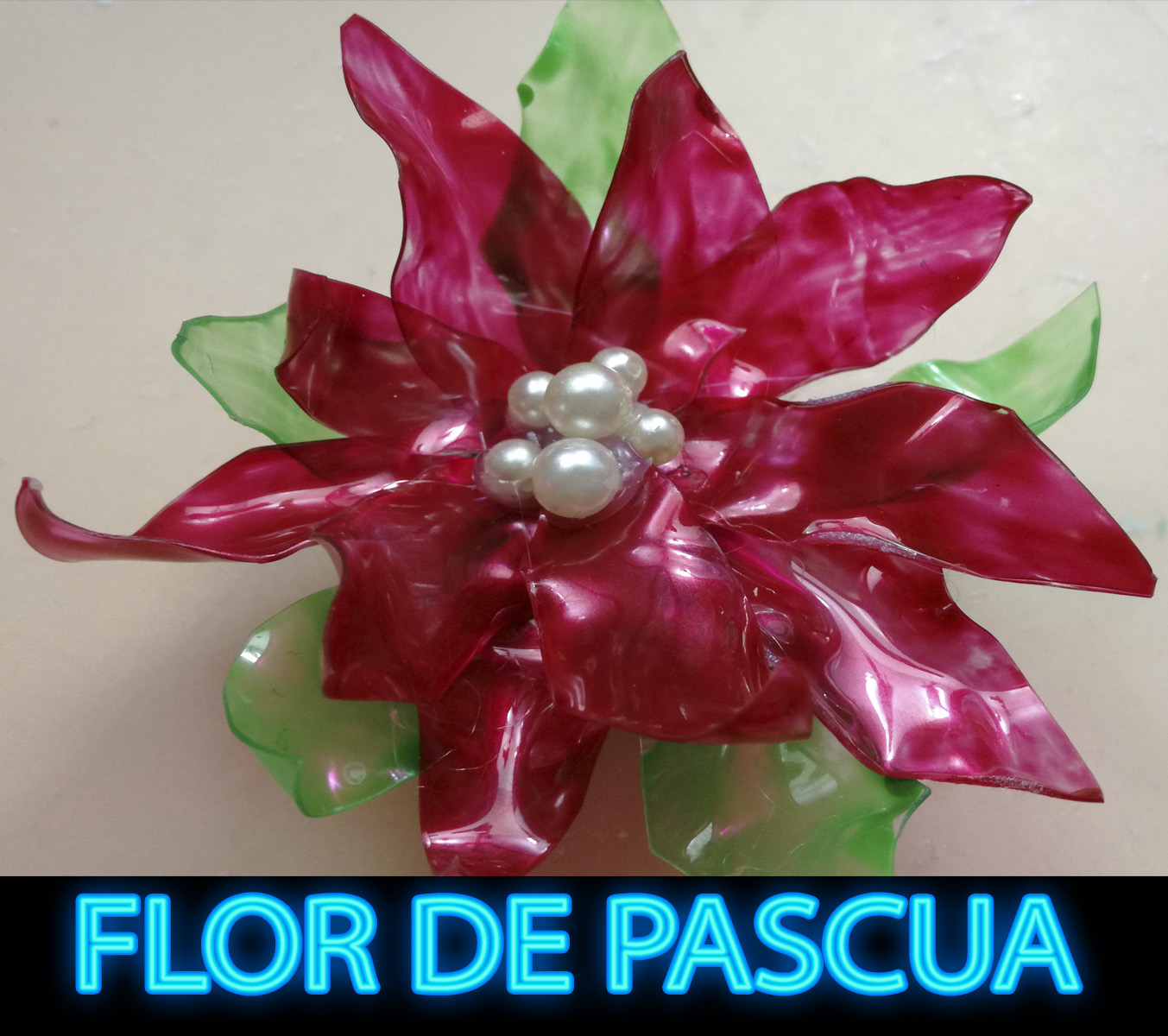 Diy como hacer una flor de navidad flor de pascua - Que cuidados necesita la flor de pascua ...
