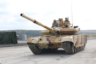 MBT T-90MS Rusia