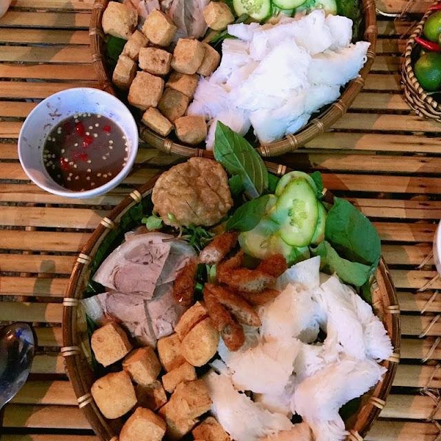 Hanoi Cuisine: Bun Dau Mam Tom 1