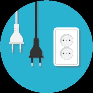 Вилки и розетки для переменного тока - маленькая картинка