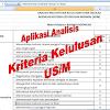 Download Aplikasi Excel Analisis Kelulusan Siswa US/M