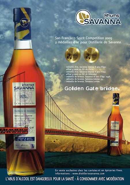 pub Rhum Savanna Golden Gate Bridge