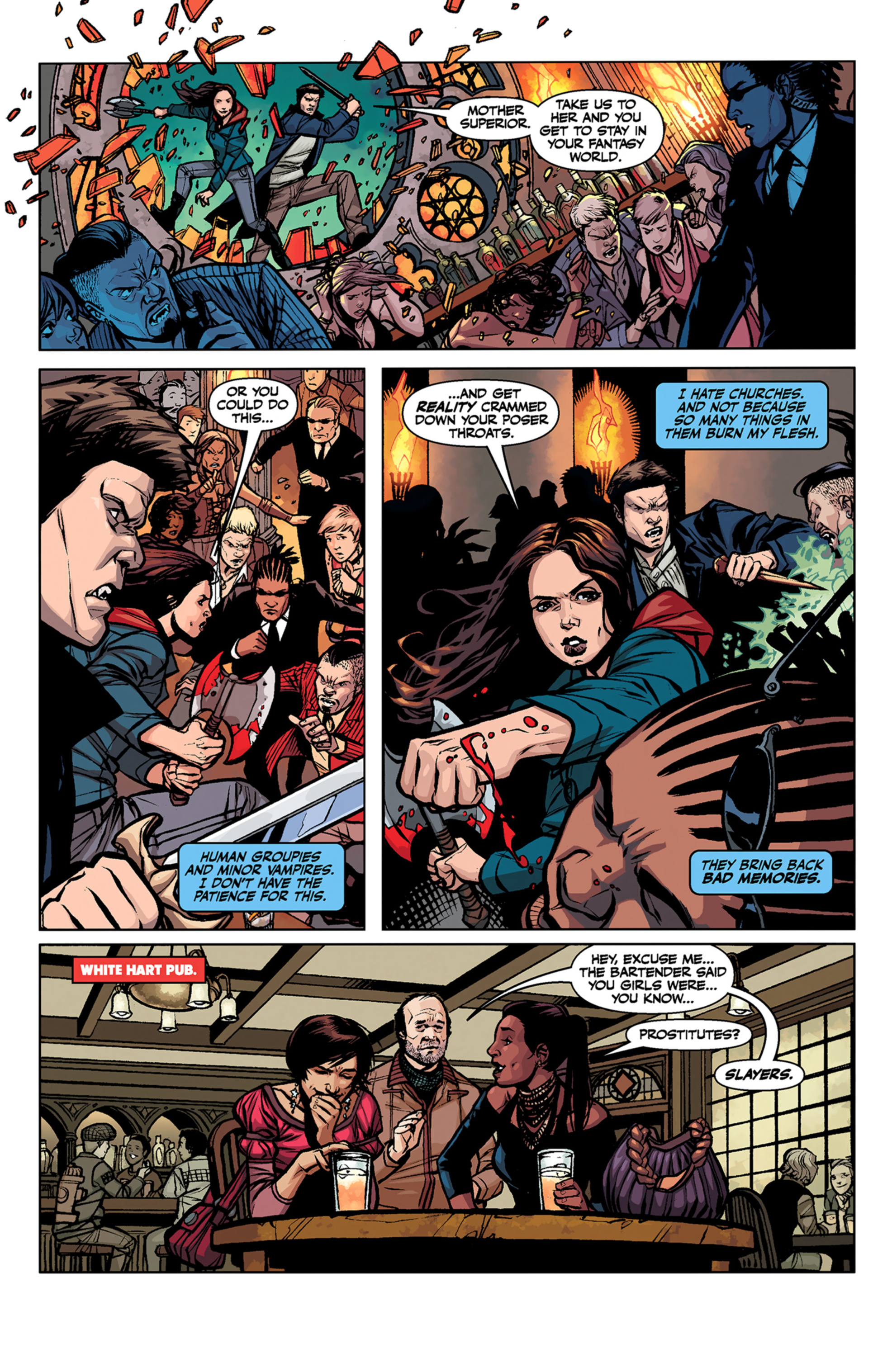 Read online Angel and Faith comic -  Issue #6 - 21