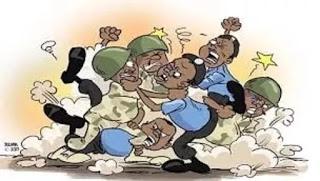 Dansanda ya yiwa soja dukan tsiya a wajen na'urar ATM dake Damaturu