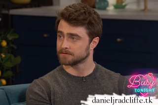 Updated(2): Daniel Radcliffe on E!'s Busy Tonight