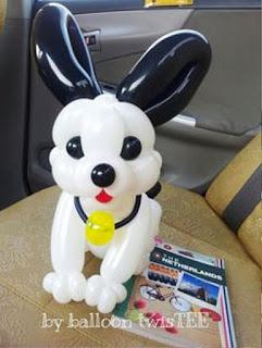 Gambar Balon Karakter Puppy_Anak Anjing Lucu_Balloon Character Puppy_9