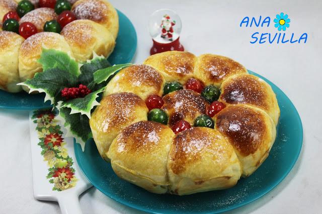 Pan dulce de nata olla GM