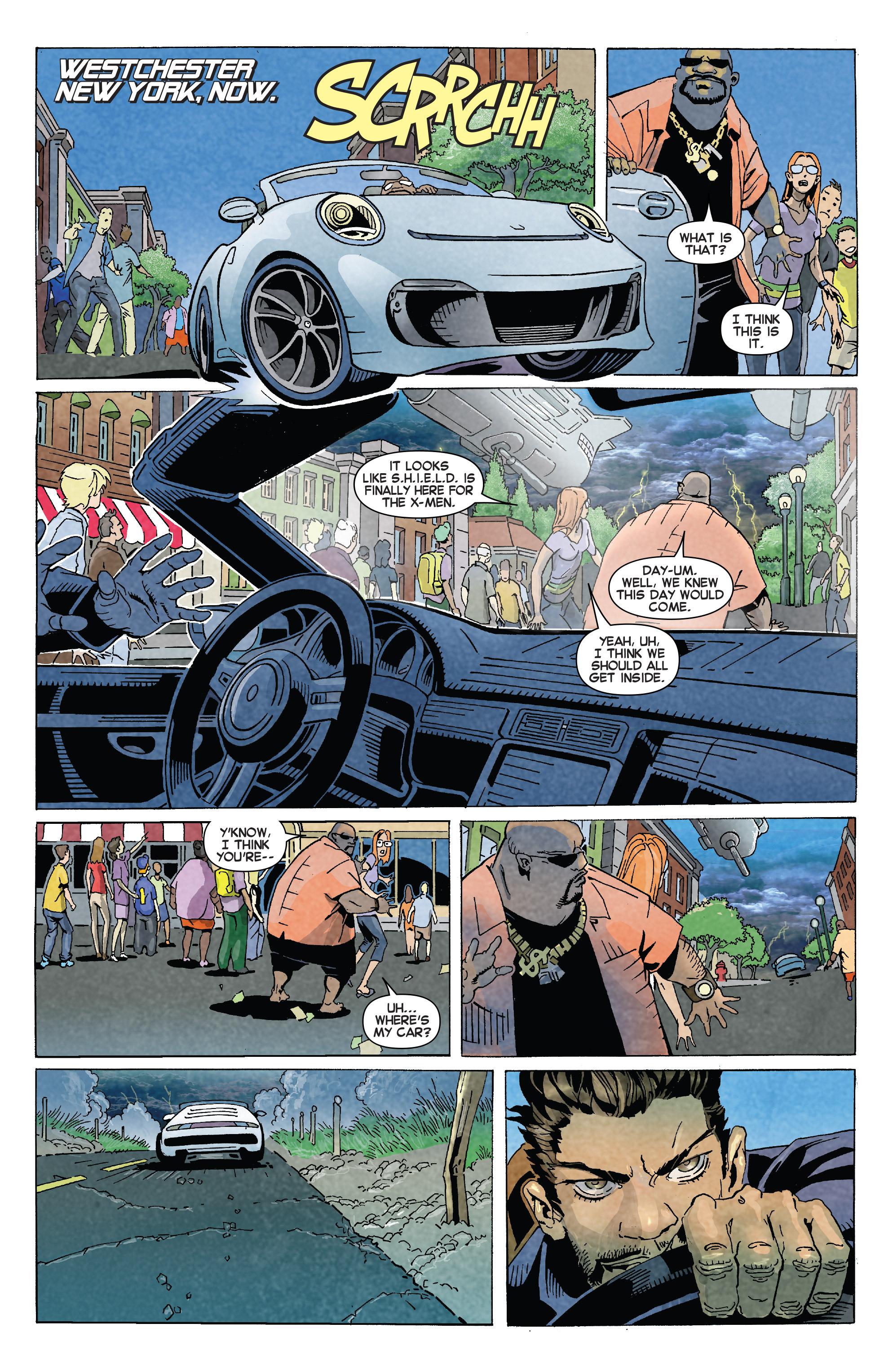 Read online Uncanny X-Men (2013) comic -  Issue #22 - 6