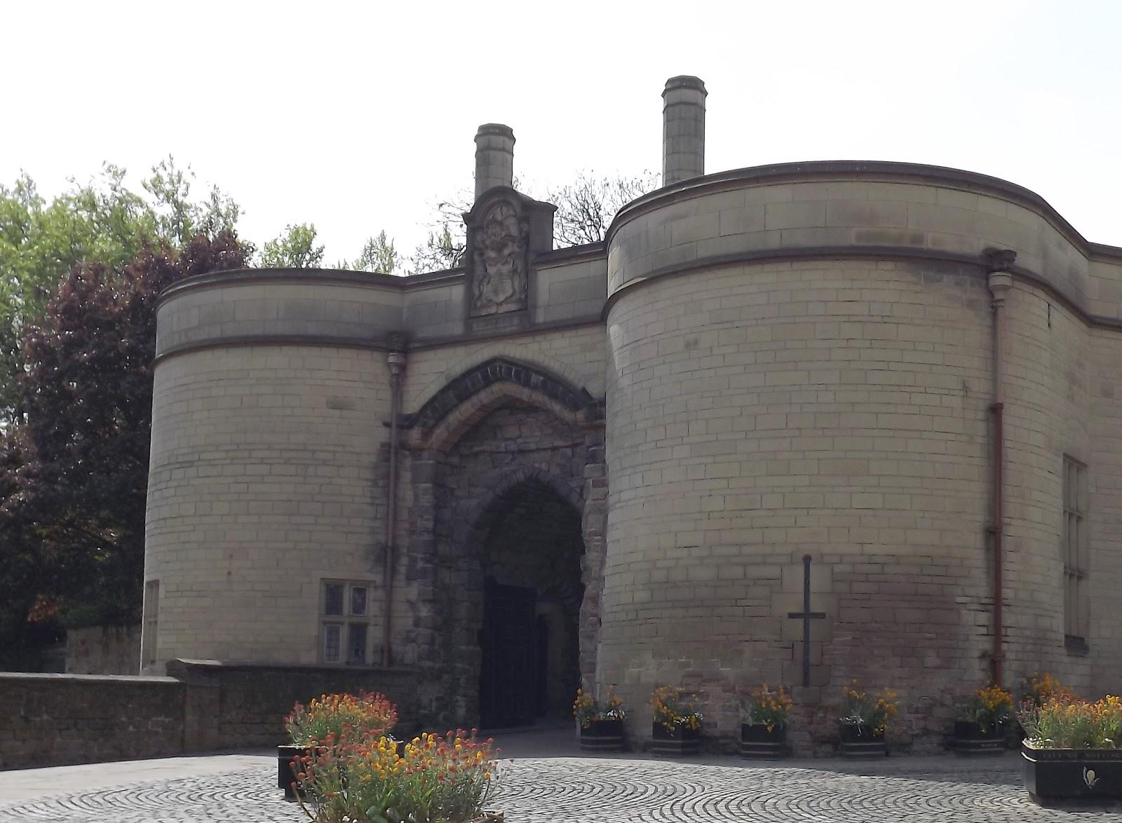 Nottingham Castle In Summer