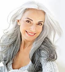 Beautiful Gray Hair, Living from Glory To Glory Blog...