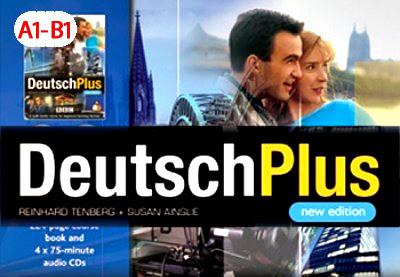 مسلسل تعليم اللغة الالمانية  مع النص بالألمانية  | من المستوى  الاول حتى Deutsch Plus A1 - B1