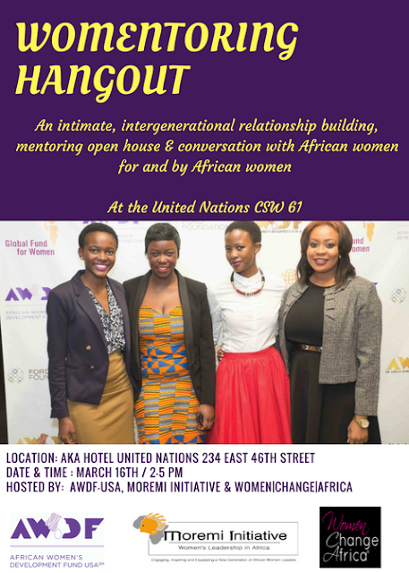 Womentoring for African Women by African Women at the United Nations!